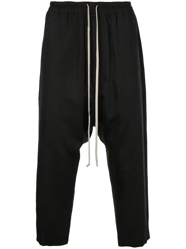 RICK OWENS MEN DRAWSTRING PANTS