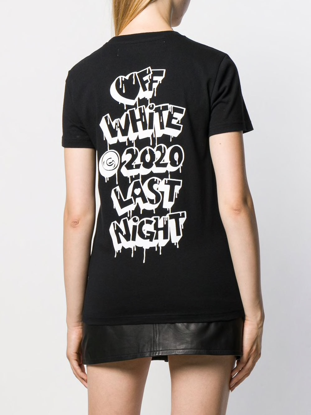 OFF-WHITE WOMEN MARKERS CASUAL TEE