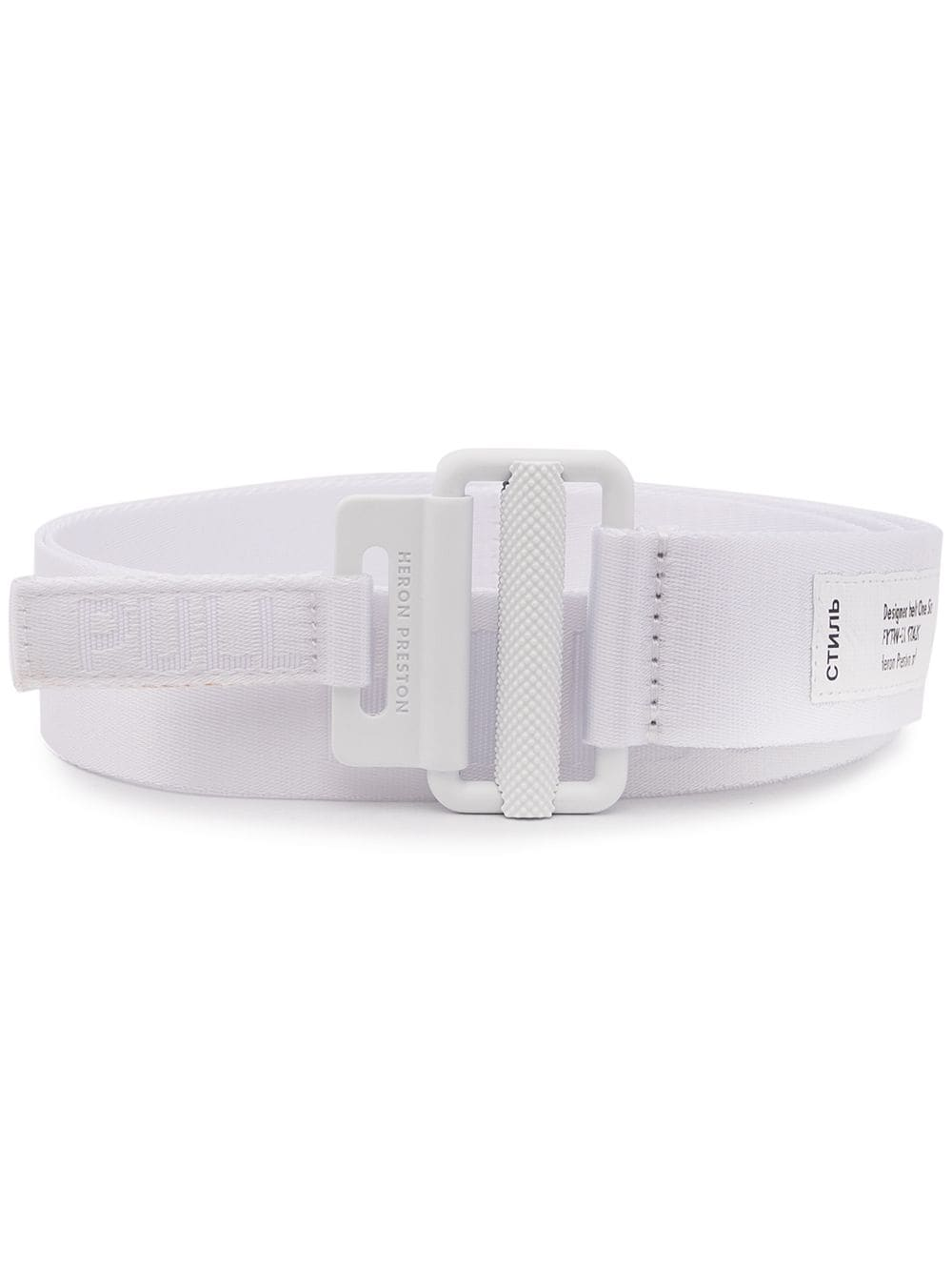 HERON PRESTON 4CM CLASSIC BUCKLE TAPE BELT