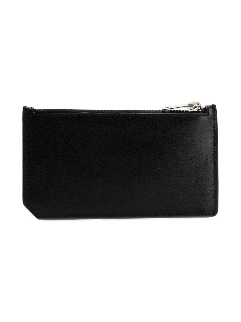 SAINT LAURENT ZIPPED CARD CASE