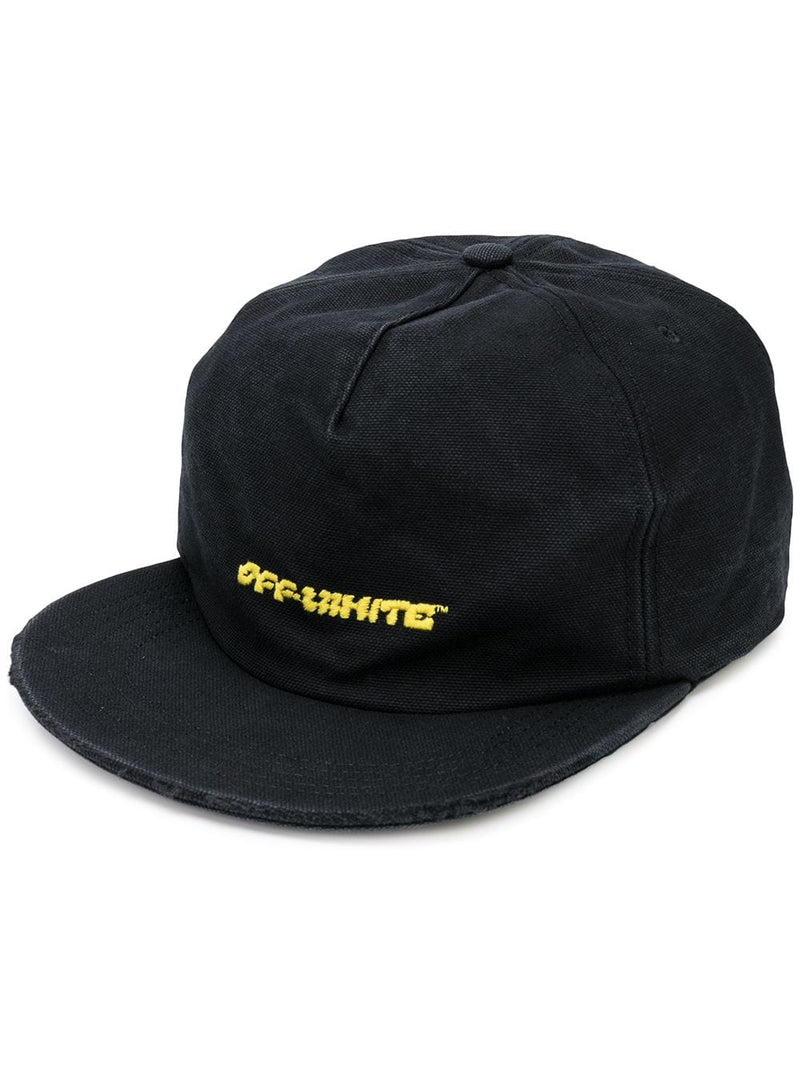 OFF-WHITE MEN DISRUPTED FONT 5 PANEL CAP