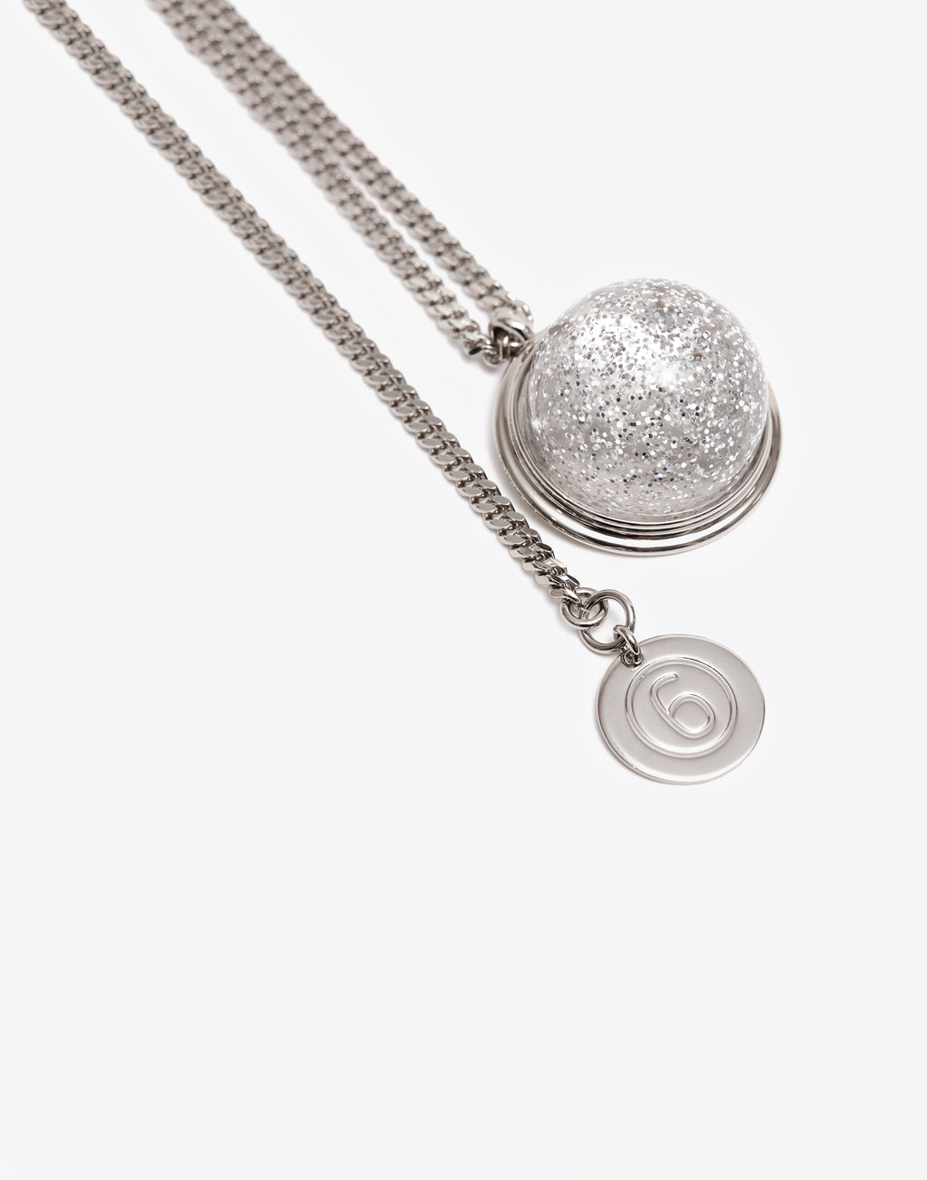 MM6 SNOW BALL NECKLACE