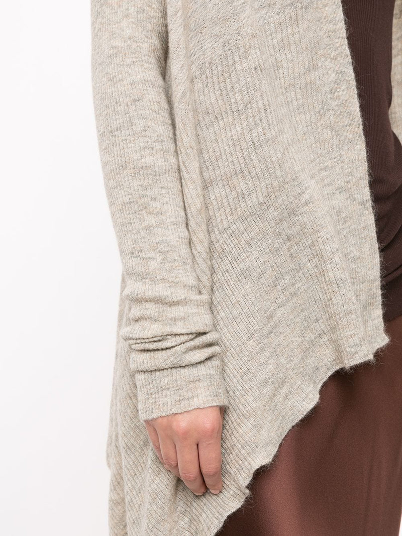 RICK OWENS WOMEN MEDIUM WRAP CARDIGAN