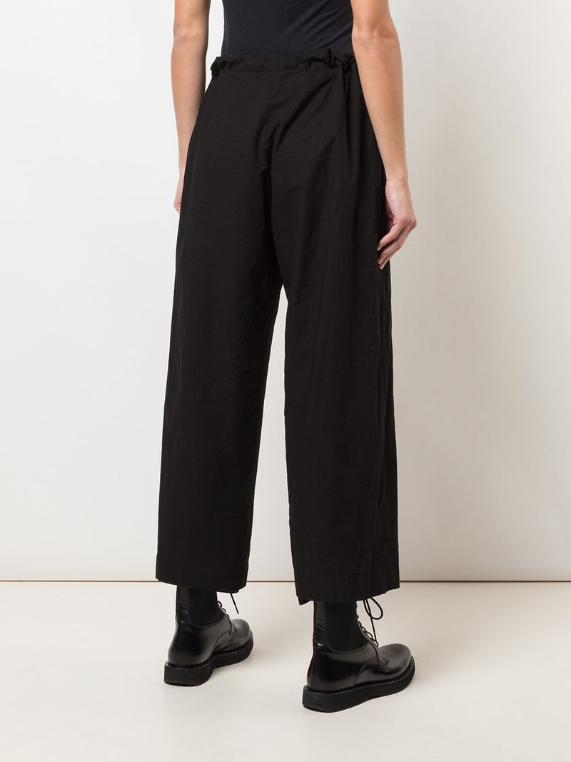 Y'S WOMEN STRAIGHT LEG STRING PANTS