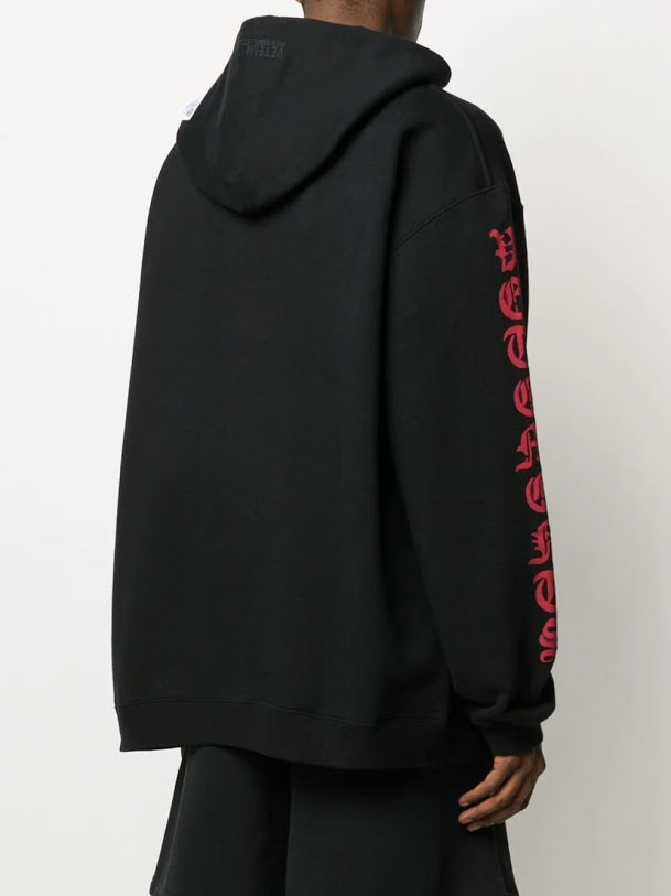 VETEMENTS MEN ANARCHY HOODIE