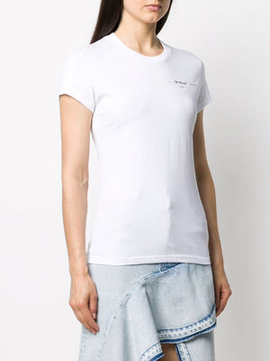 OFF WHITE WOMEN METEOR PALETTE FIT TEE