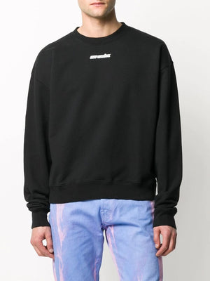 OFF-WHITE MEN MARKER OVER CREWNECK