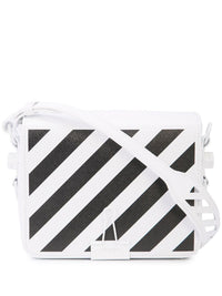 OFF WHITE WOMEN DIAG FLAP BAG