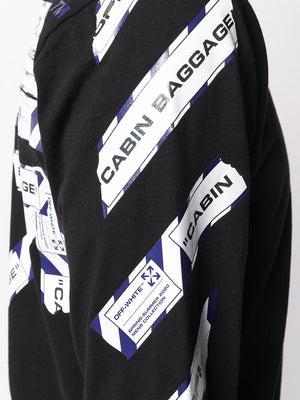 OFF-WHITE MEN AIRPORT TAPE L/S TEE