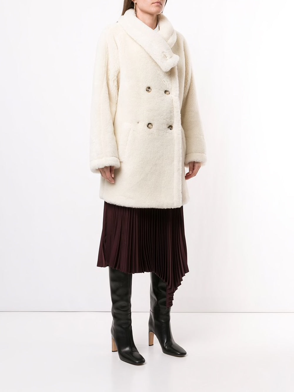 MAX MARA WOMEN TEDDY 4 COAT