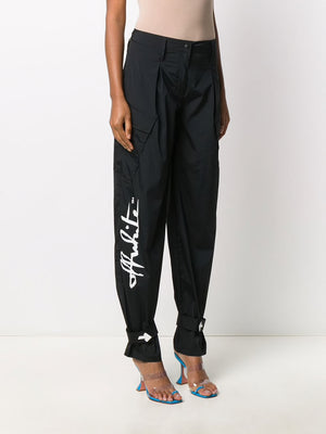 OFF-WHITE WOMEN ATHLEISURE PANTS