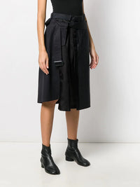 MAISON MARGIELA WOMEN TAILORED COMBO SKIRT