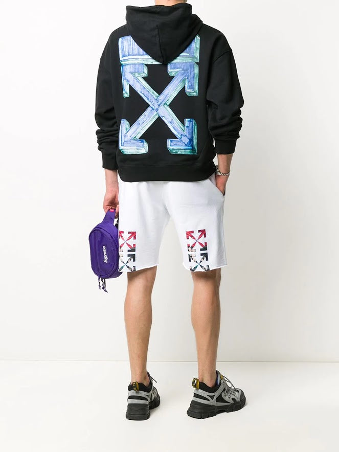 OFF-WHITE MEN MARKER OVER HOODIE
