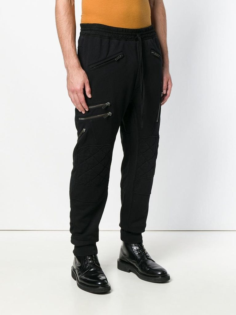 HAIDER ACKERMANN MEN BIKER TROUSER 184-3809-222-096