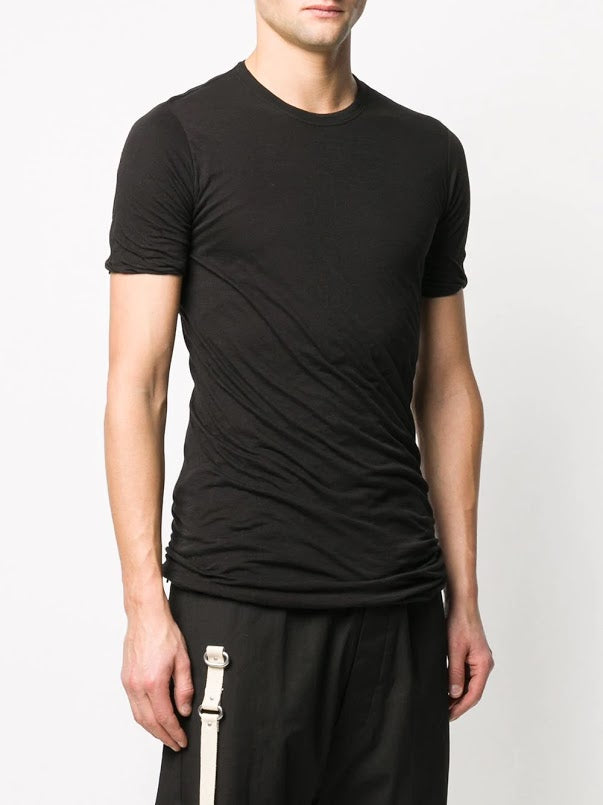 RICK OWENS MEN DOUBLE SHORT SLEEVE TEE