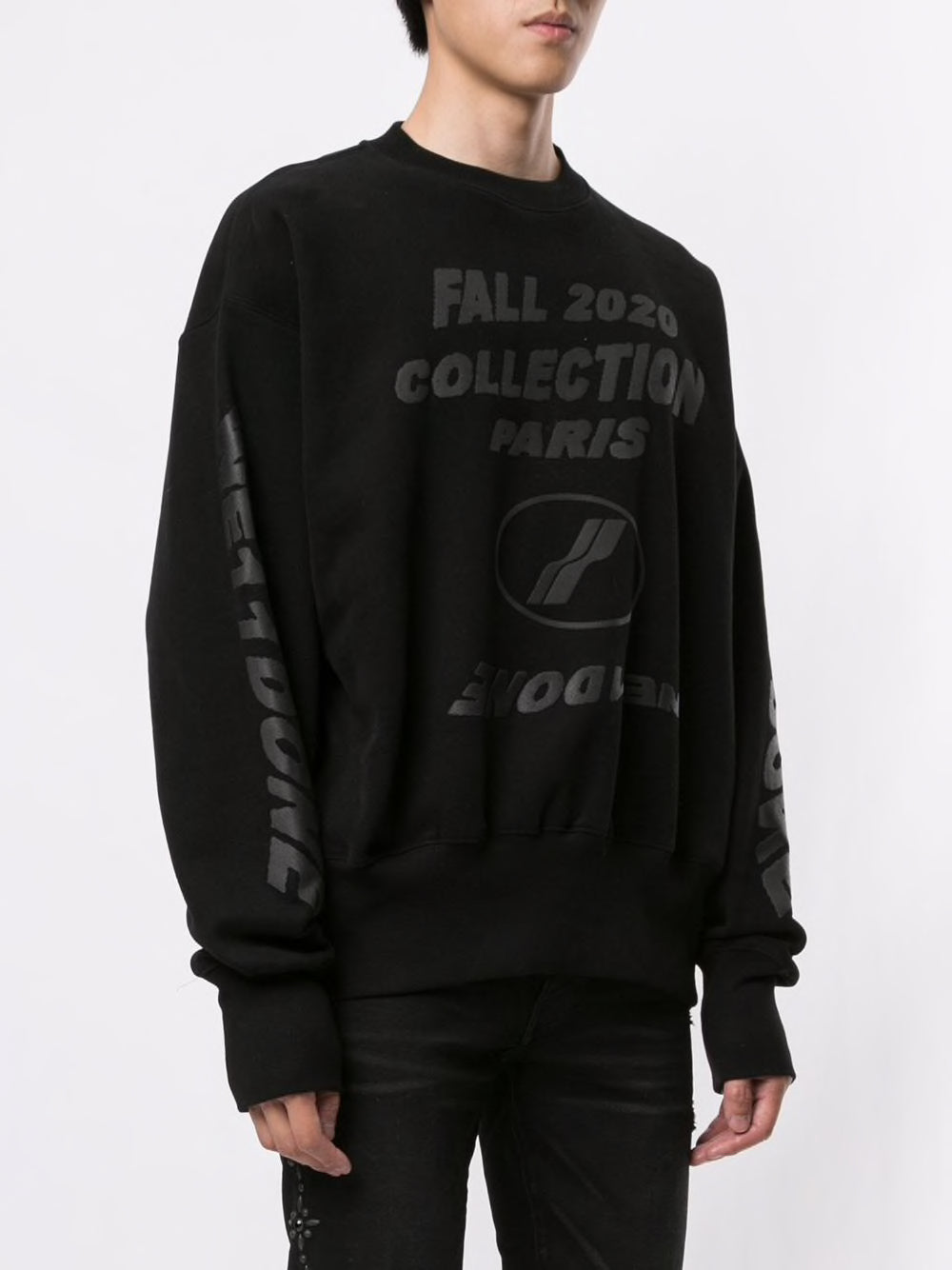 WE11DONE UNISEX FW20 COLLECTION SWEATSHIRT