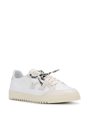 OFF-WHITE MEN LEATHER 2.0 SNEAKERS