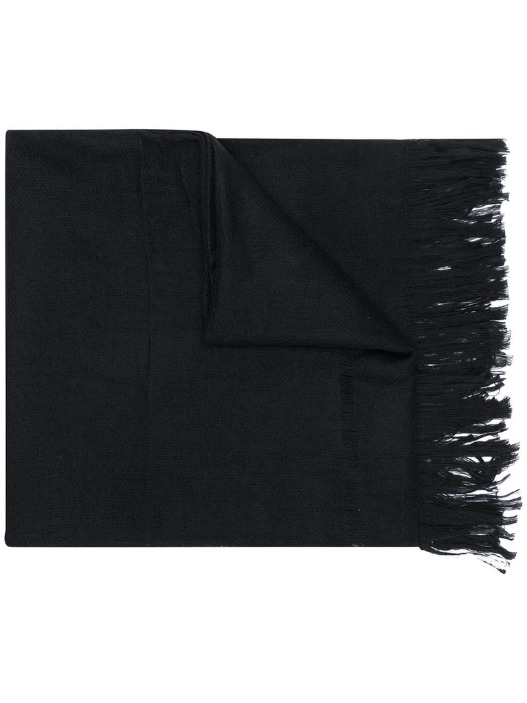 YOHJI YAMAMOTO POUR HOMME LAYER NEEDLE PUNCH SCARF