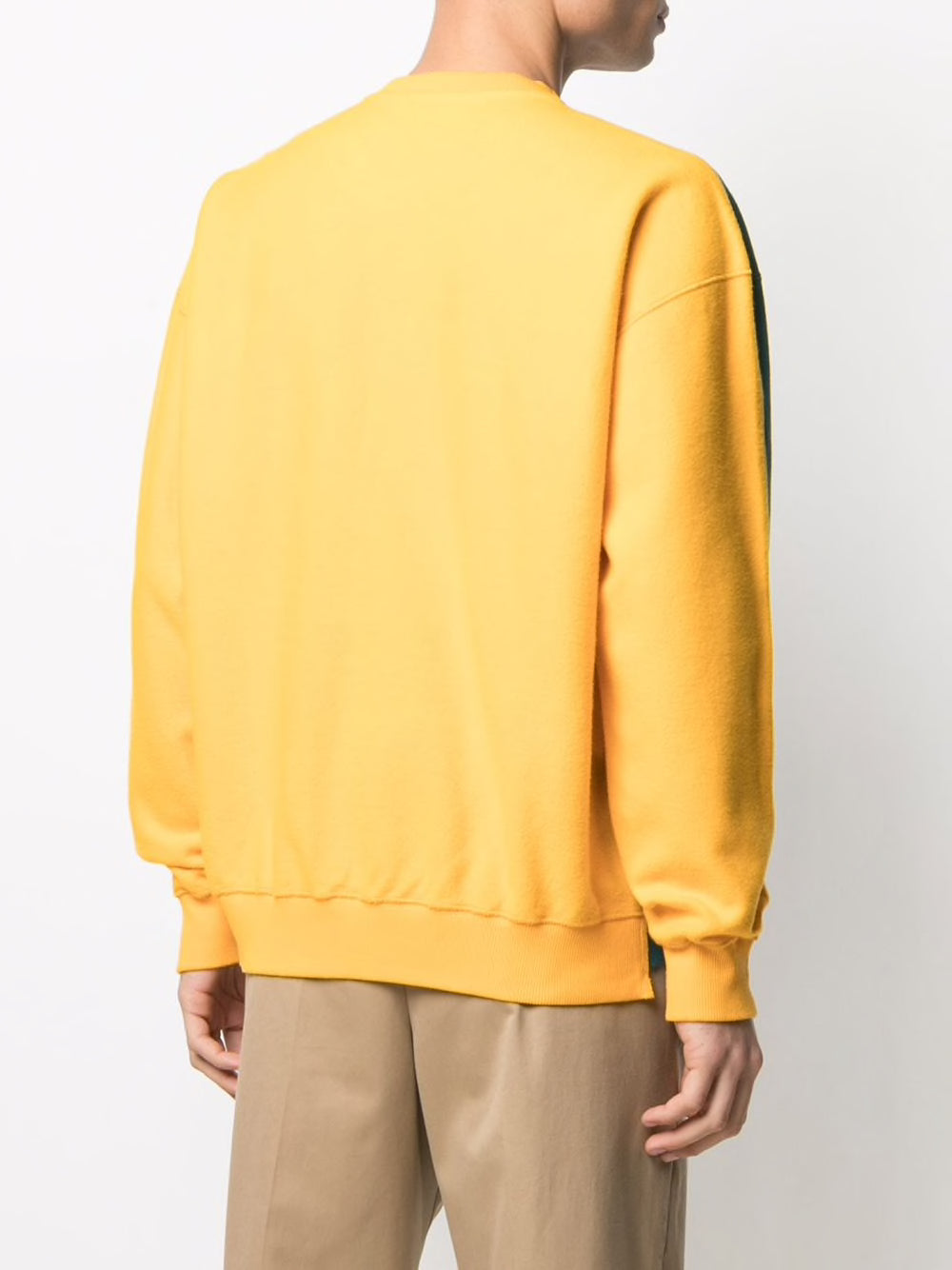 JW ANDERSON UNISEX DECONSTRUCTED FLEECE BACK SWEATSHIRT
