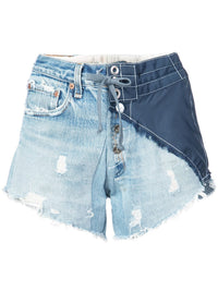 GREG LAUREN WOMEN DENIM/BIRDWELL SHORT