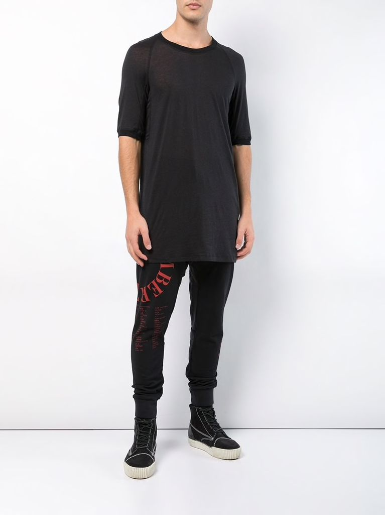 11 BY BORIS BIDJAN SABERI MEN MASTER NUMBER SWEATPANTS P13 F-1229