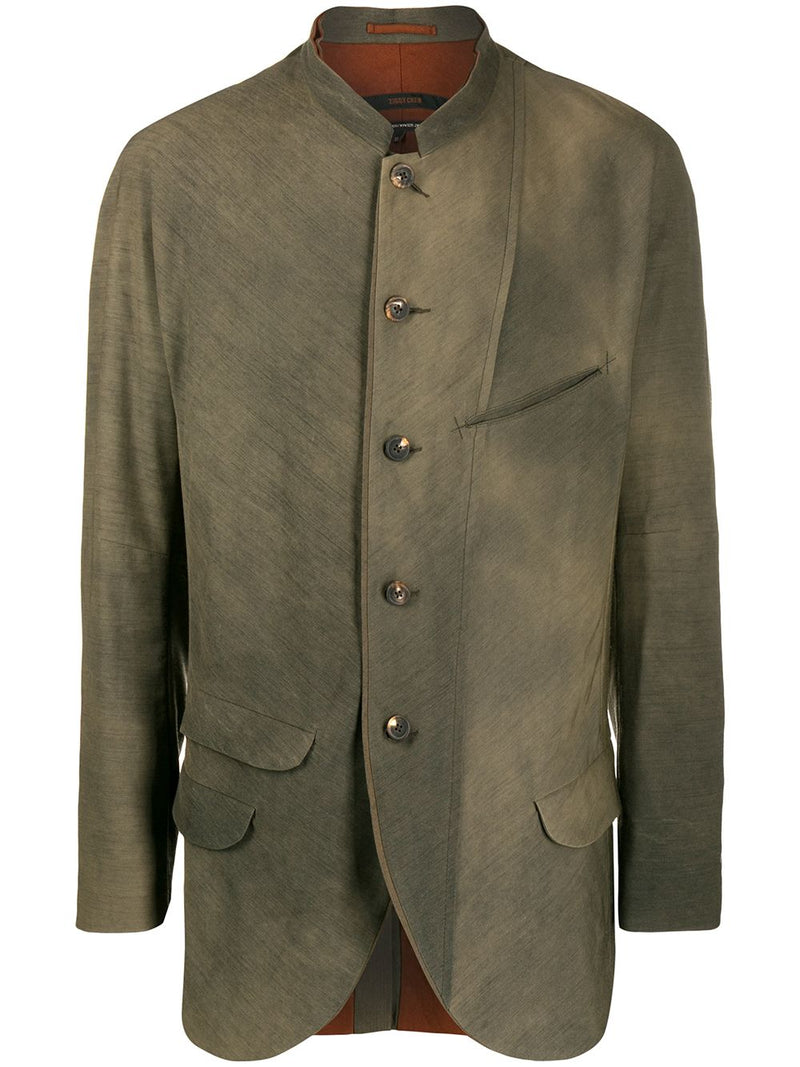 ZIGGY CHEN MEN MANDARIN COLLAR JACKET