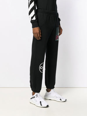 OFF-WHITE MEN MARIANA DE SILVA SHORT SWEATPANT