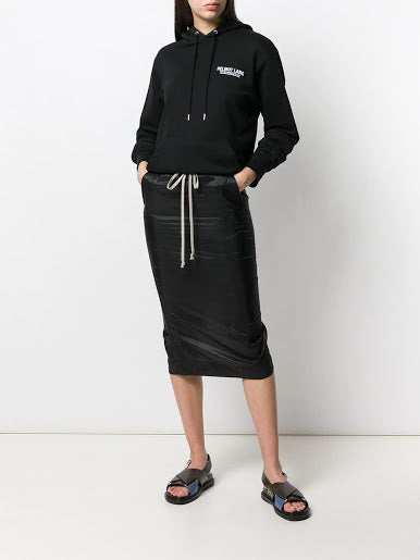 RICK OWENS DRKSHDW WOMEN SOFT PILLAR SKIRT