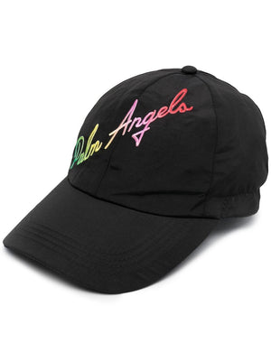 PALM ANGELS MIAMI LOGO CAP