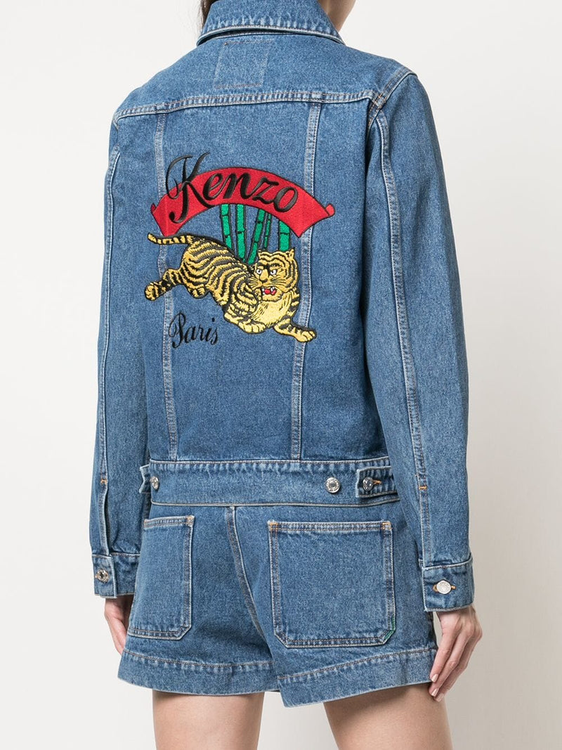 KENZO WOMEN DENIM JACKET