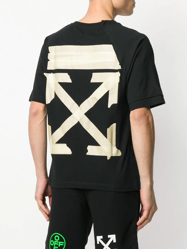 OFF-WHITE MEN TAPE ARROWS S/S RECONSTRUCTED