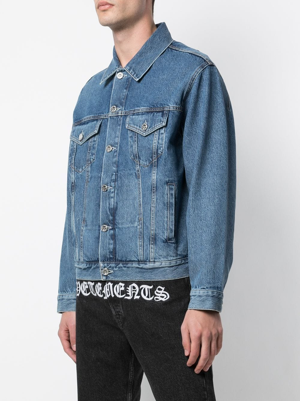 VETEMENTS UNISEX GOTHIC VETEMENTS JACKET