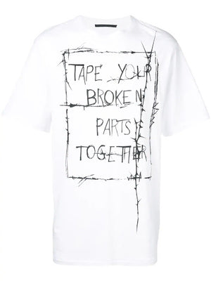 HAIDER ACKERMANN MEN PRINTED T-SHIRT