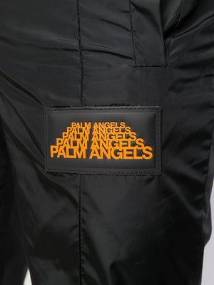 PALM ANGELS MEN GAITER AFTERSPORT PANTS