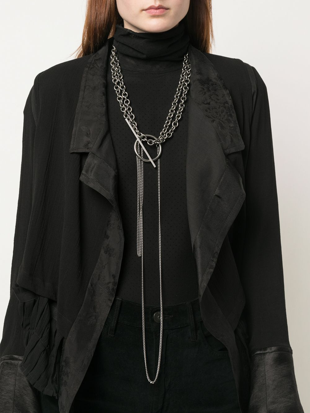 ANN DEMEULEMEESTER WOMEN CHAIN NECKLACE