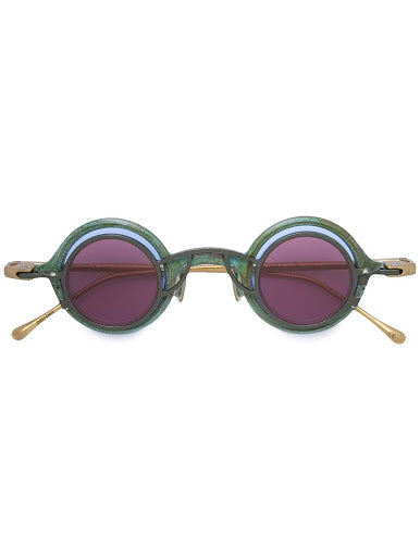 ZIGGY CHEN X RIGARDS OXIDIZED BRASS DOUBLE SUNGLASSES
