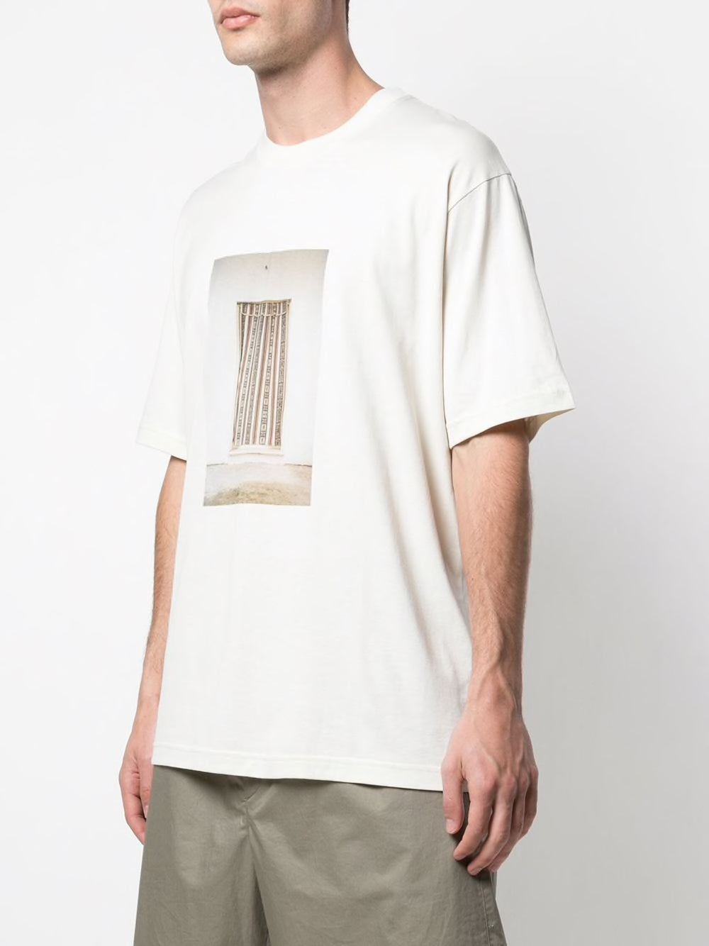 SONG FOR THE MUTE MEN BROWN DOOR OVERSIZED TEE
