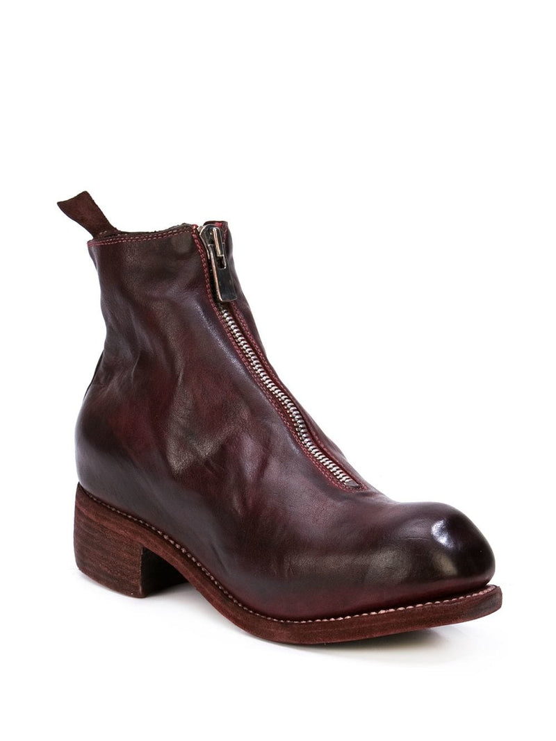 GUIDI WOMEN PL1 SOFT HORSE LEATHER FRONT ZIP BOOTS