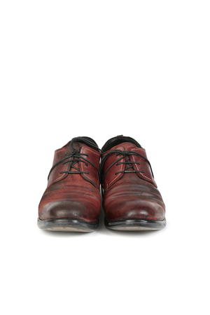 LAYER-0 MEN REVERSE CORDOVAN LEATHER GOOODYEAR DERBY