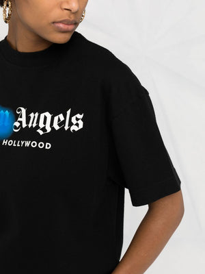 PALM ANGELS WOMEN WEST HOLLYWOOD SPRAYED TEE