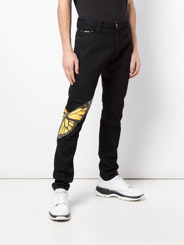 PALM ANGELS MEN 5 POCKETS PANTS