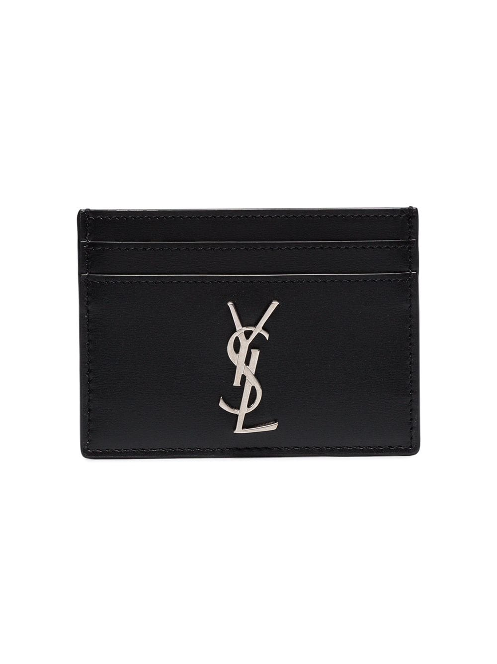 SAINT LAURENT LOGO MONOGRAM CARD HOLDER