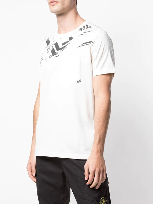 STONE ISLAND SHADOW PROJECT MEN PRINTED T-SHIRT