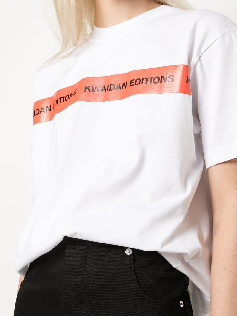 KWAIDAN EDITIONS WOMEN BRANDED KWAIDAN EDITIONS TAPE T-SHIRT