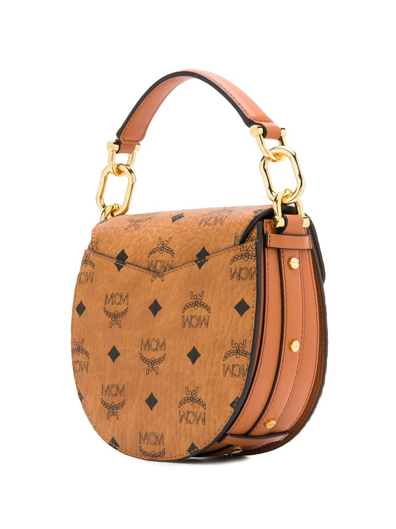 MCM WOMEN MINI PATRICA VISETOS SHOULDER BAG