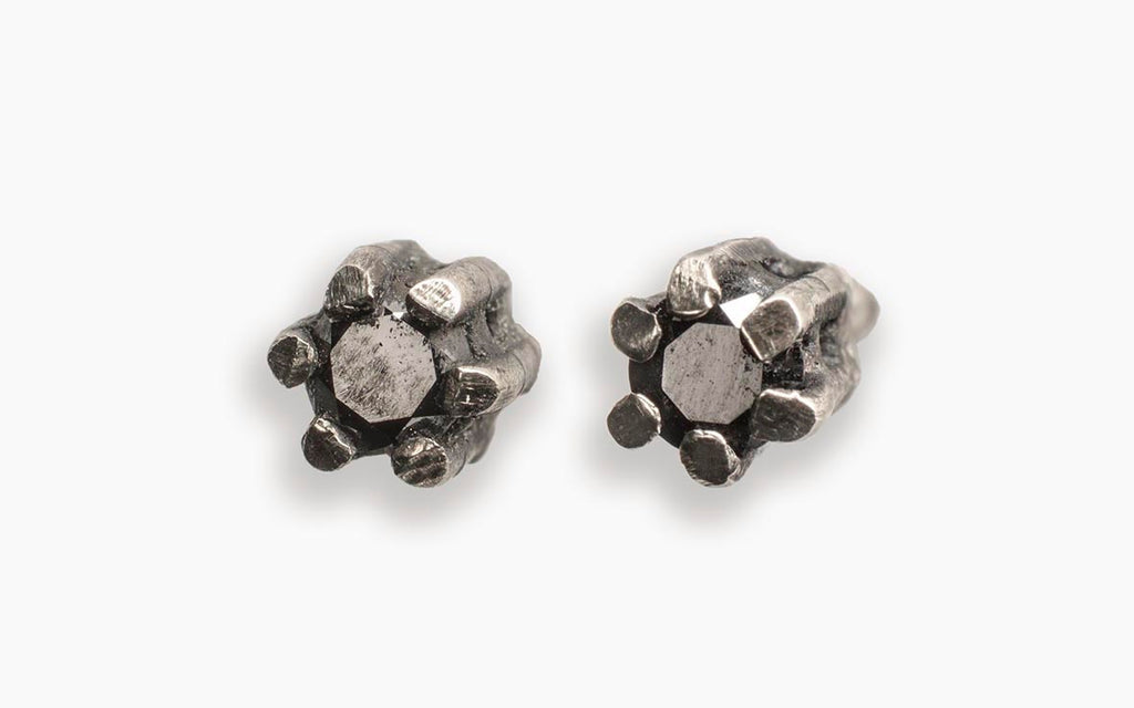 JULIA ZIMMERMANN DIAMOND STUDS