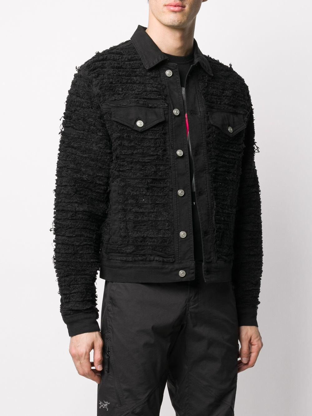 1017 ALYX 9SM MEN BLACKMEANS DENIM JACKET