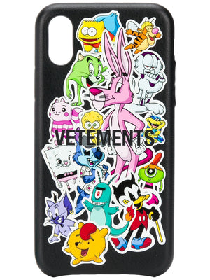 VETEMENTS UNISEX MONSTERS STICKERS IPHONE XS CASE