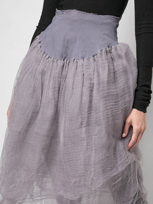 MARC LE BIHAN WOMEN BALLERINA SKIRT GREY