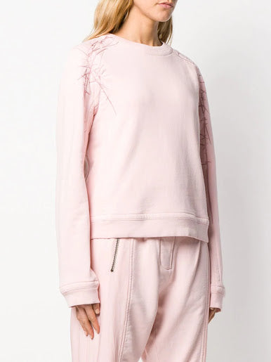 HAIDER ACKERMANN WOMEN EMBROIDERED SWEATER